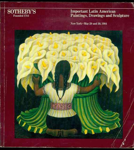 Image for Important Latin American Paintings, Drawings, Sculpture, Prints and Haitian Paintings (May 29 and 30, 1984)