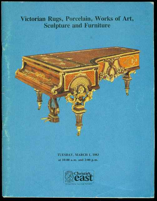 Image for Victorian Rugs, Porcelain, Works of Art, Sculpture and Furniture (March 1, 1983)
