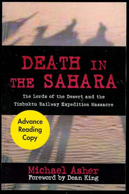 Image for Death in the Sahara: The Lords of the Desert and the Timbuktu Railway Expedition Massacre