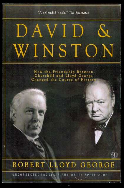 Image for David & Winston: How the Friendship Between Churchill and Lloyd George Changed the Course of History