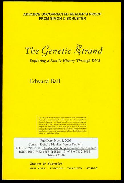 Image for The Genetic Strand: Exploring a Family History Through DNA