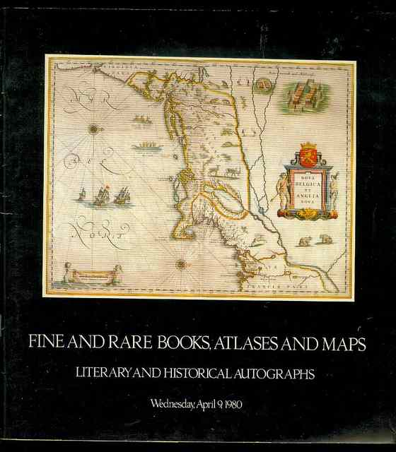Image for Fine Books & Manuscripts, Atlases & Maps, Literary & Historical Autographs (Wednesday, April 9, 1980)