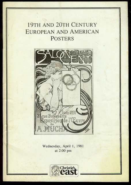 Image for 19th and 20th Century European and American Posters (Wednesday, April 1, 1981)