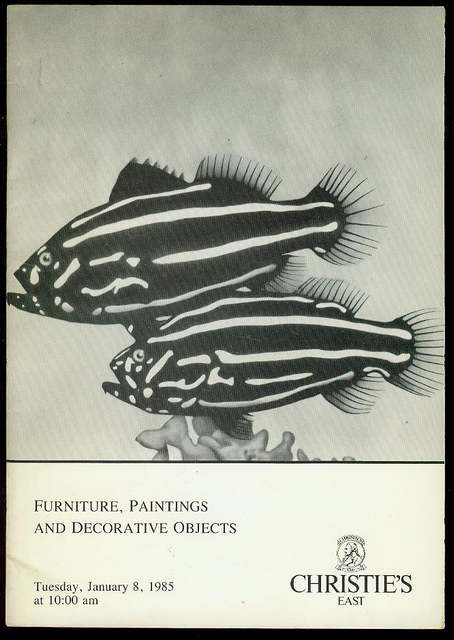 Image for Furniture, Paintings and Decorative Objects (Tuesday, January 8, 1985)
