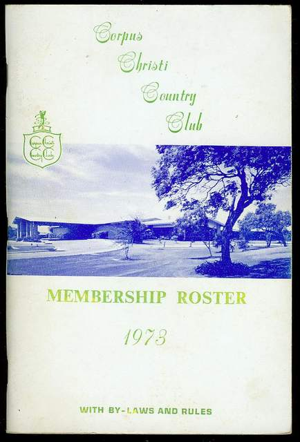 Image for Membership Roster 1973 with By-Laws and Rules