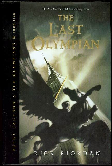 Image for The Last Olympian (Percy Jackson And The Olympians Book Five)