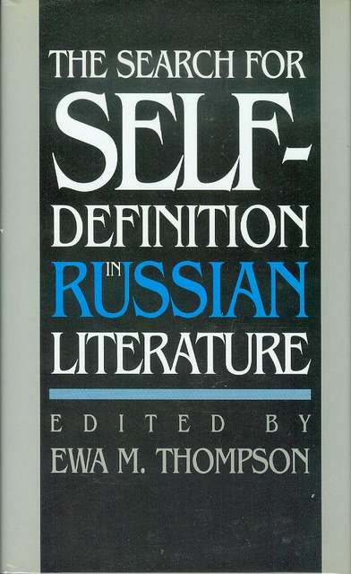 Image for The Search for Self-Definition in Russian Literature
