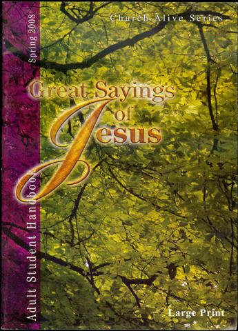 Image for Great Sayings of Jesus