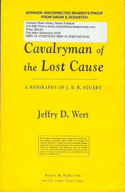 Image for Cavalryman of the Lost Cause: A Biography of J. E. B. Stuart