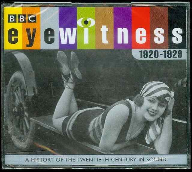 Image for Eyewitness, 1920-1929