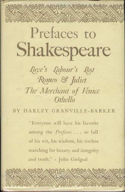 Image for Prefaces to Shakespeare (Volume IV)