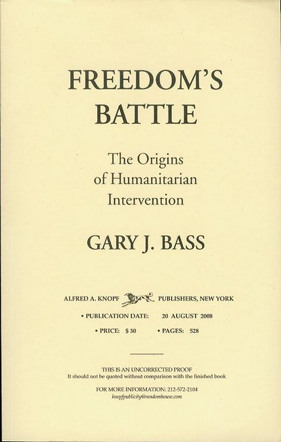 Image for Freedom's Battle: The Origins of Humanitarian Intervention