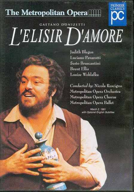 Image for Gaetano Donizetti: L'Elisir d'Amore (Opera in Two Acts)