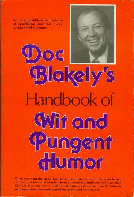 Image for Doc Blakely's Handbook of Wit and Pungent Humor
