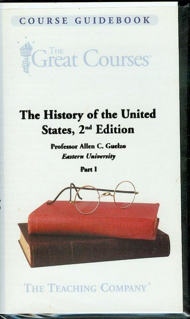 Image for The History of the United States, 2nd Edition (Part I)