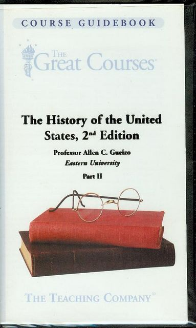 Image for The History of the United States, 2nd Edition (Part II)
