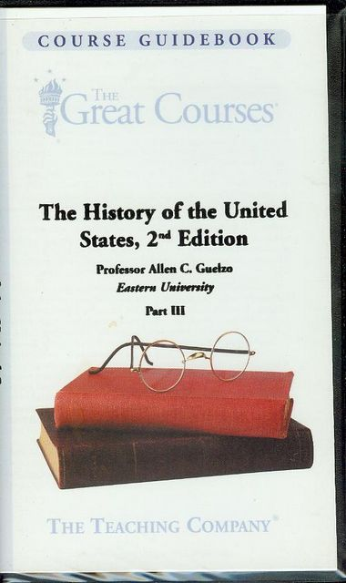 Image for The History of the United States, 2nd Edition (Part III)