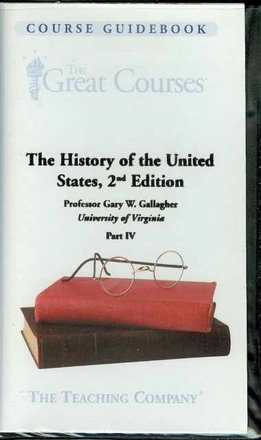 Image for The History of the United States, 2nd Edition (Part IV)