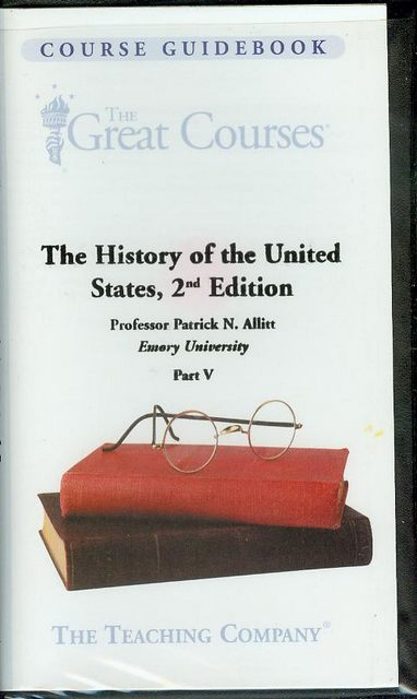 Image for The History of the United States, 2nd Edition (Part V)