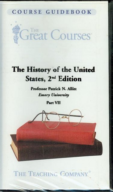 Image for The History of the United States, 2nd Edition (Part VII)