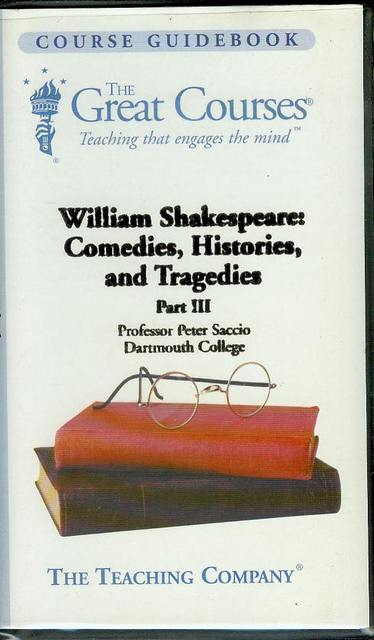 Image for William Shakespeare: Comedies, Histories, and Tragedies (Part III)
