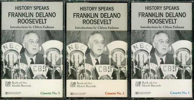 Image for History Speaks: Franklin Delano Roosevelt