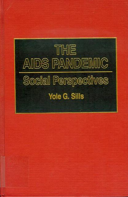 Image for The AIDS Pandemic: Social Perspectives