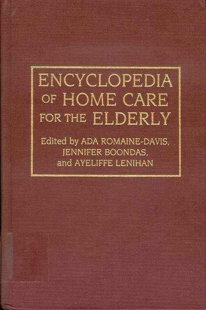 Image for Encyclopedia of Home Care for the Elderly