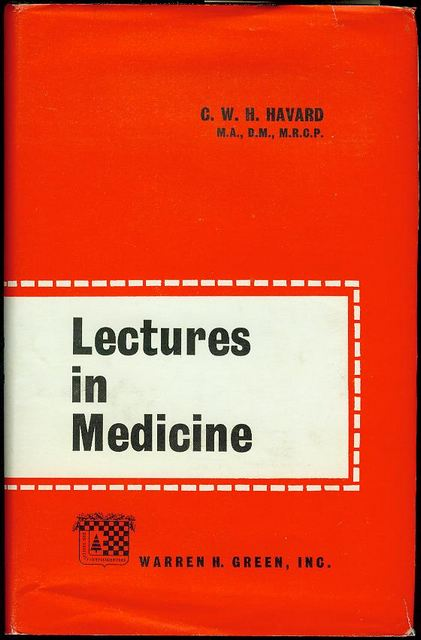 Image for Lectures in Medicine