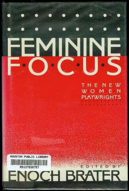 Image for Feminine Focus: The New Women Playwrights