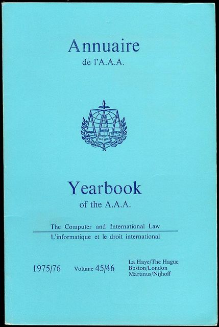Image for Annuaire AAA / AAA Yearbook 1975/76