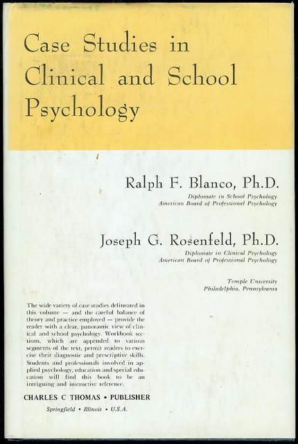 Image for Case Studies in Clinical and School Psychology