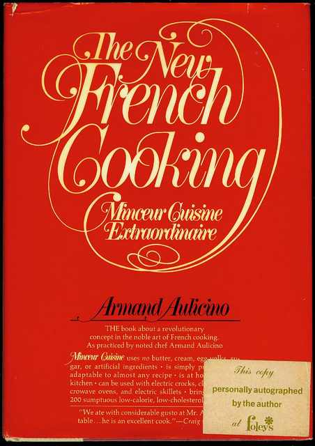 Image for The New French Cooking: Minceur Cuisine Extraordinaire