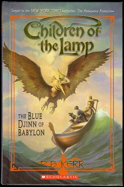 Image for The Blue Djinn of Babylon (Children of the Lamp, Book 2)
