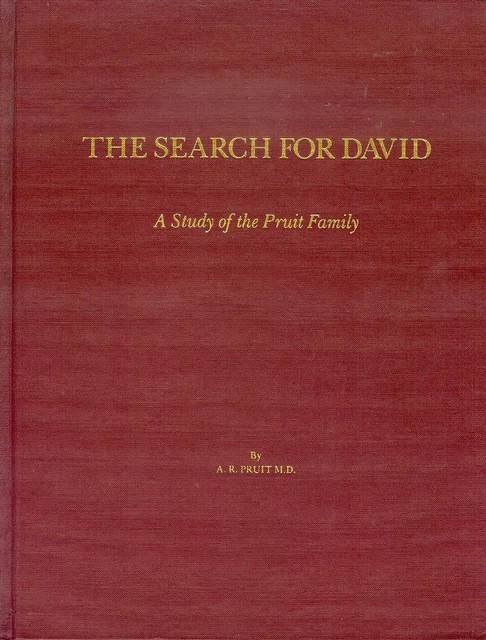 Image for The Search for David: A Study of the Pruit Family