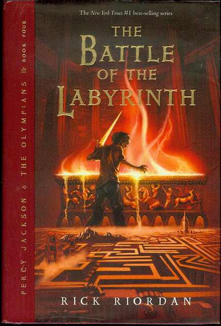 Image for The Battle of the Labyrinth (Percy Jackson And The Olympians Book Four)