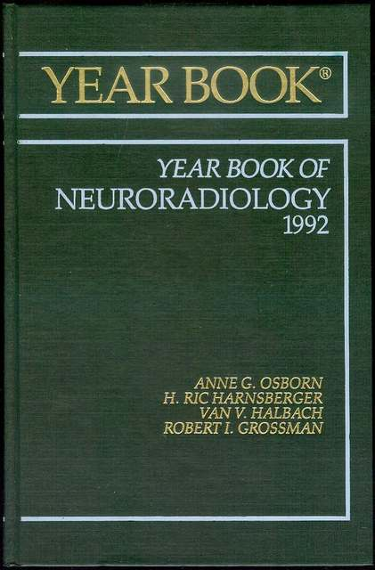 Image for 1992 The Year Book of Neuroradiology