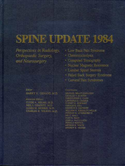 Image for Spine Update 1984