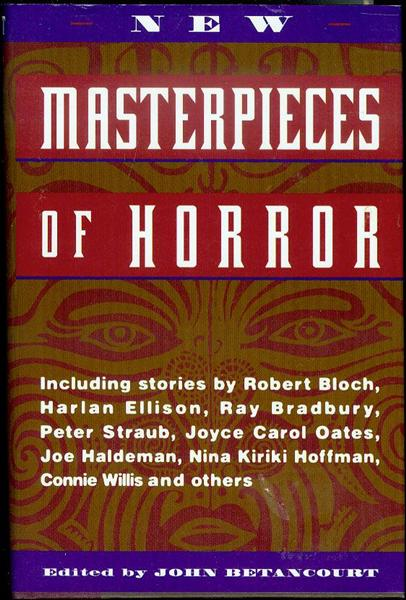 Image for New Masterpieces of Horror