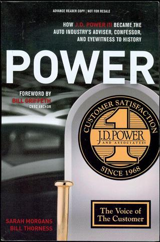 Image for POWER: How J.D. Power III Became the Auto Industry's Adviser, Confessor, and Eyewitness to History