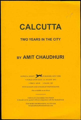 Image for Clacutta: Two Years in the City