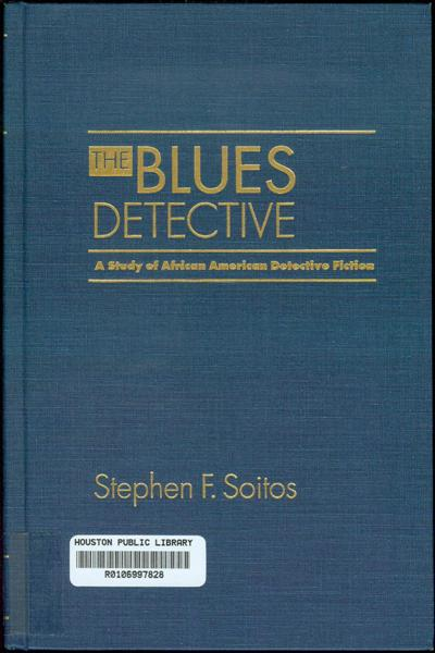 Image for The Blues Detective: A Study of African American Detective Fiction