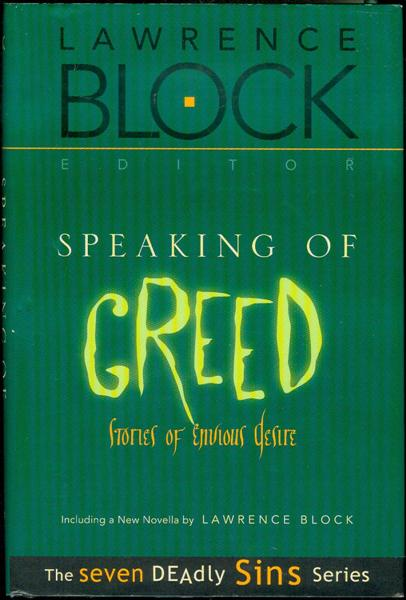 Image for Speaking of Greed: Stories of Envious Desire