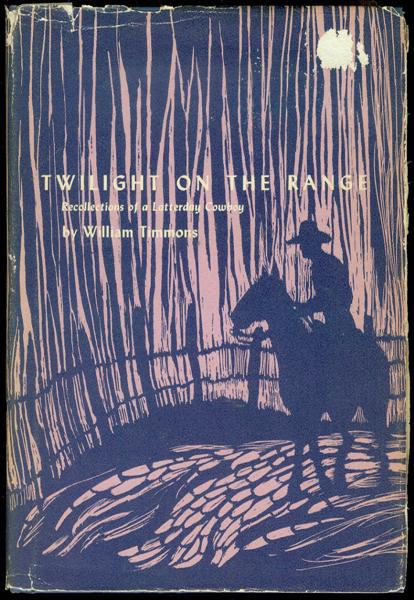 Image for Twilight on the Range: Recollections of a Latterday Cowboy