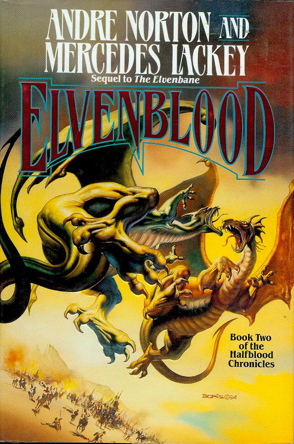Image for Elvenblood (Halfblood Chronicles, Book 2)
