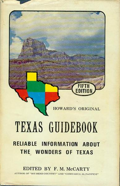 Image for Texas Guidebook: Authentic Information About the Wonders of Texas