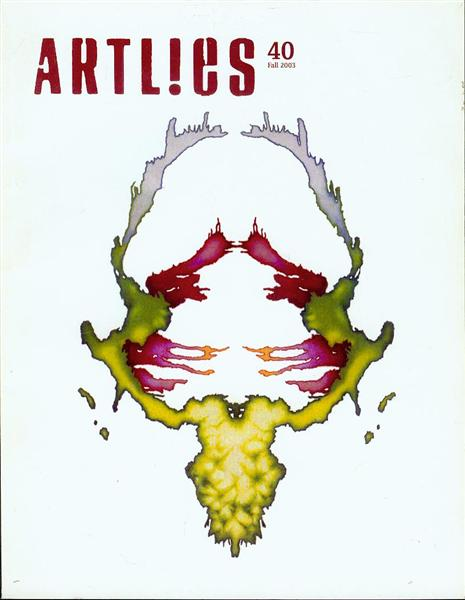 Image for ARTL!ES (Number 40, Fall 2003)