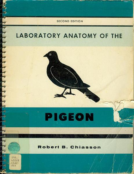 Image for Laboratory Anatomy of the Pigeon