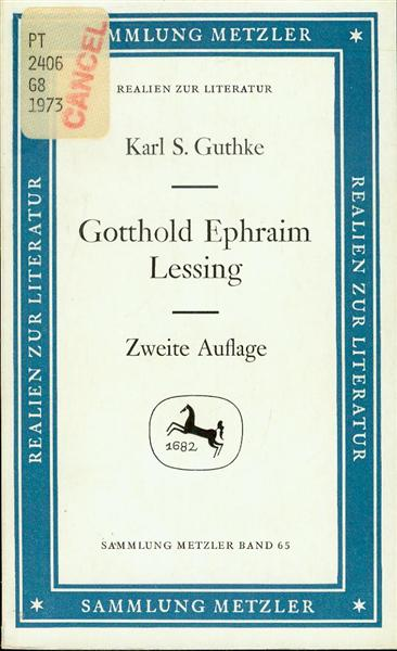 Image for Gotthold Ephram Lessing