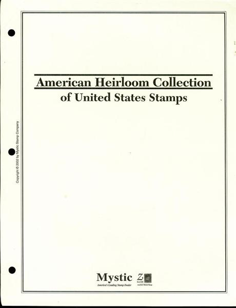 Image for American Heirloom Collection of United States Stamps